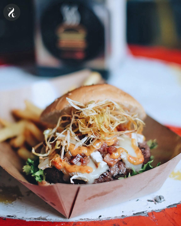 Mejores hamburguesas de Madrid - Clandestino Burger