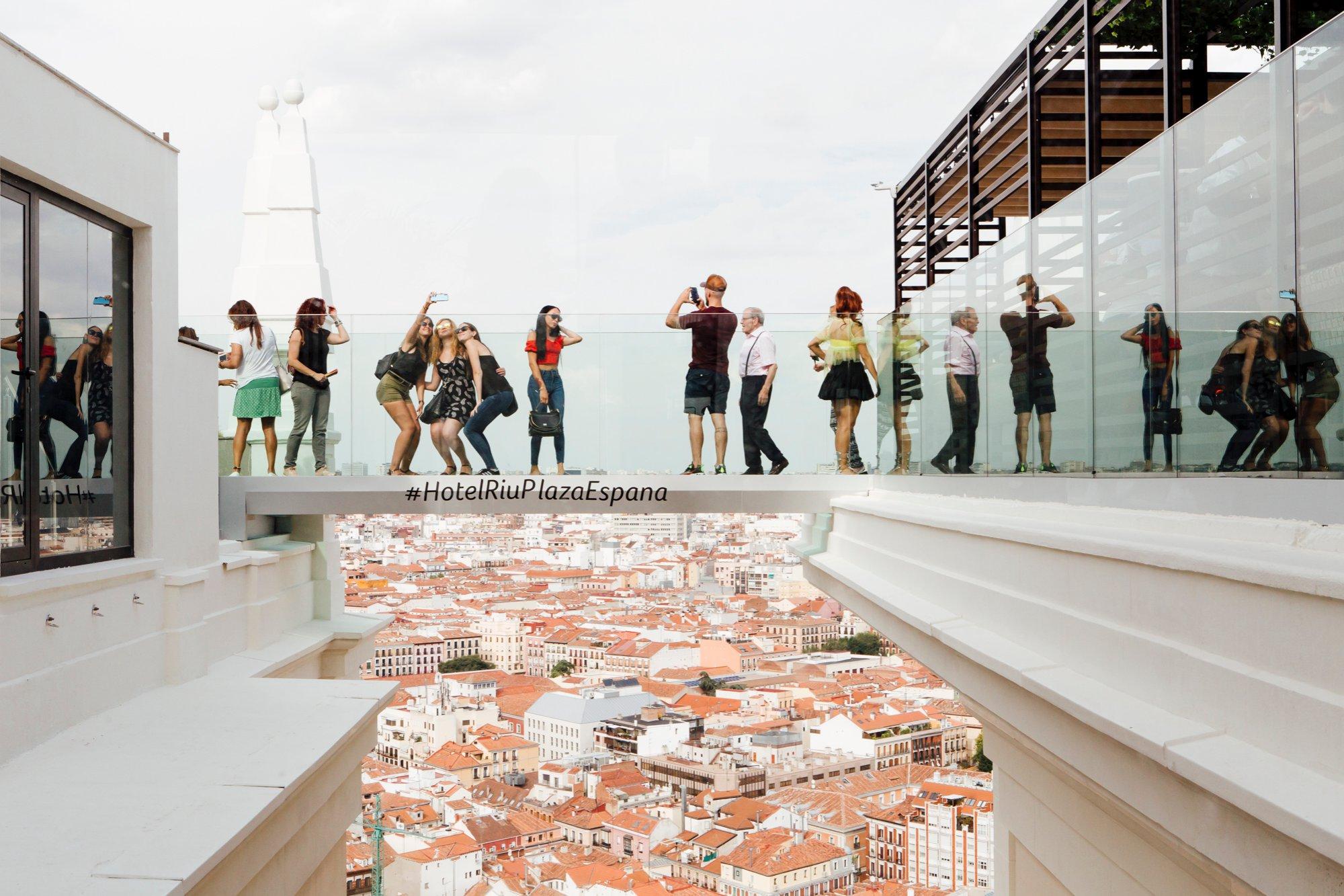 Hotel Riu Plaza España - mejores terrazas Madrid