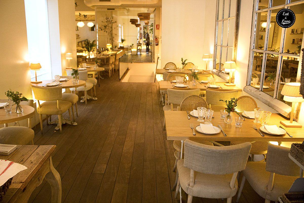 Naia - Restaurantes buenos, bonitos y baratos Madrid