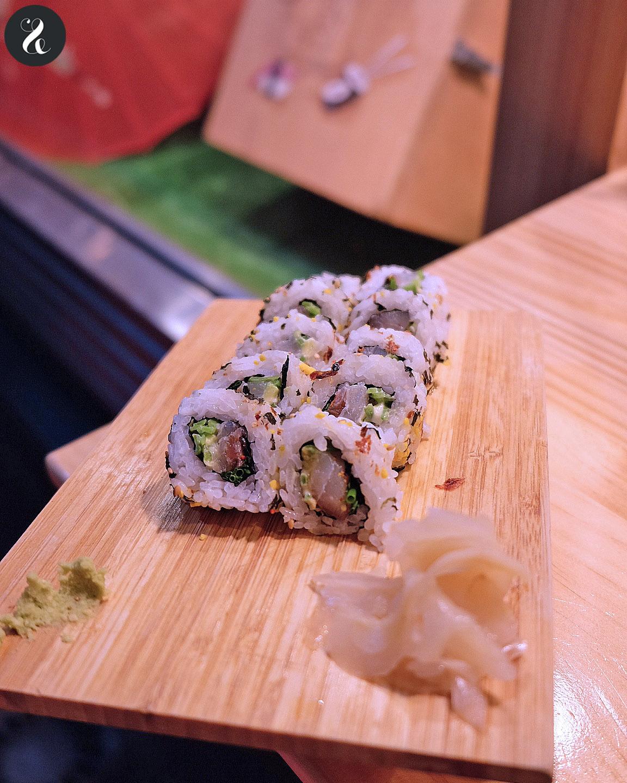Sushi en Bici