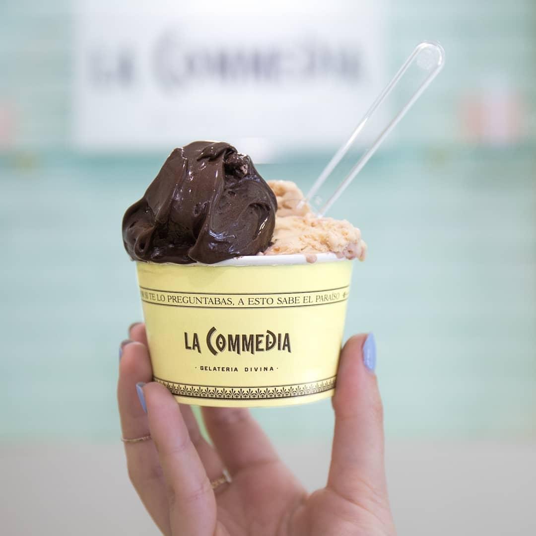 Mejores heladerías Madrid - La Commedia