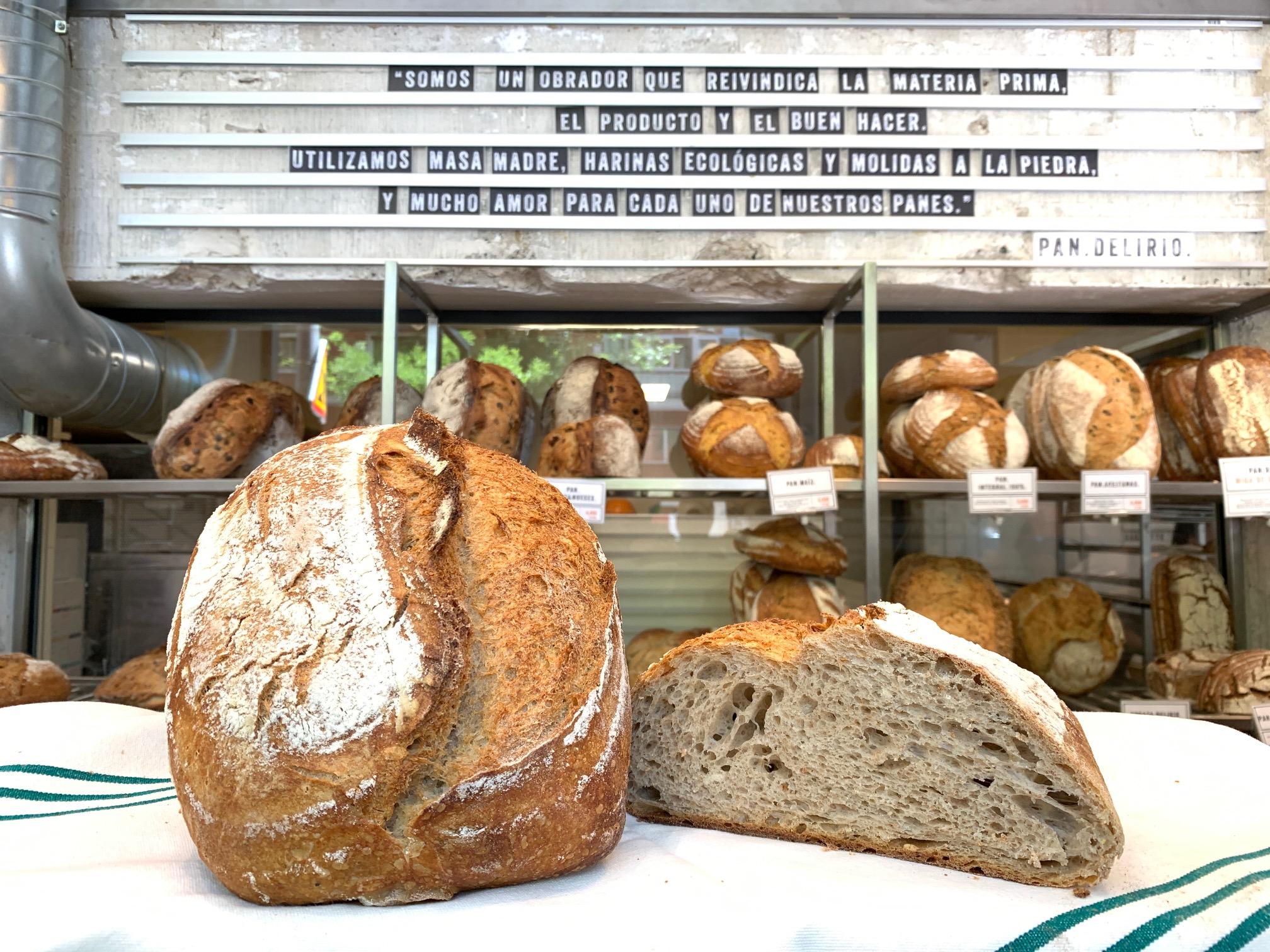 Pan Delirio - mejores panaderías Madrid