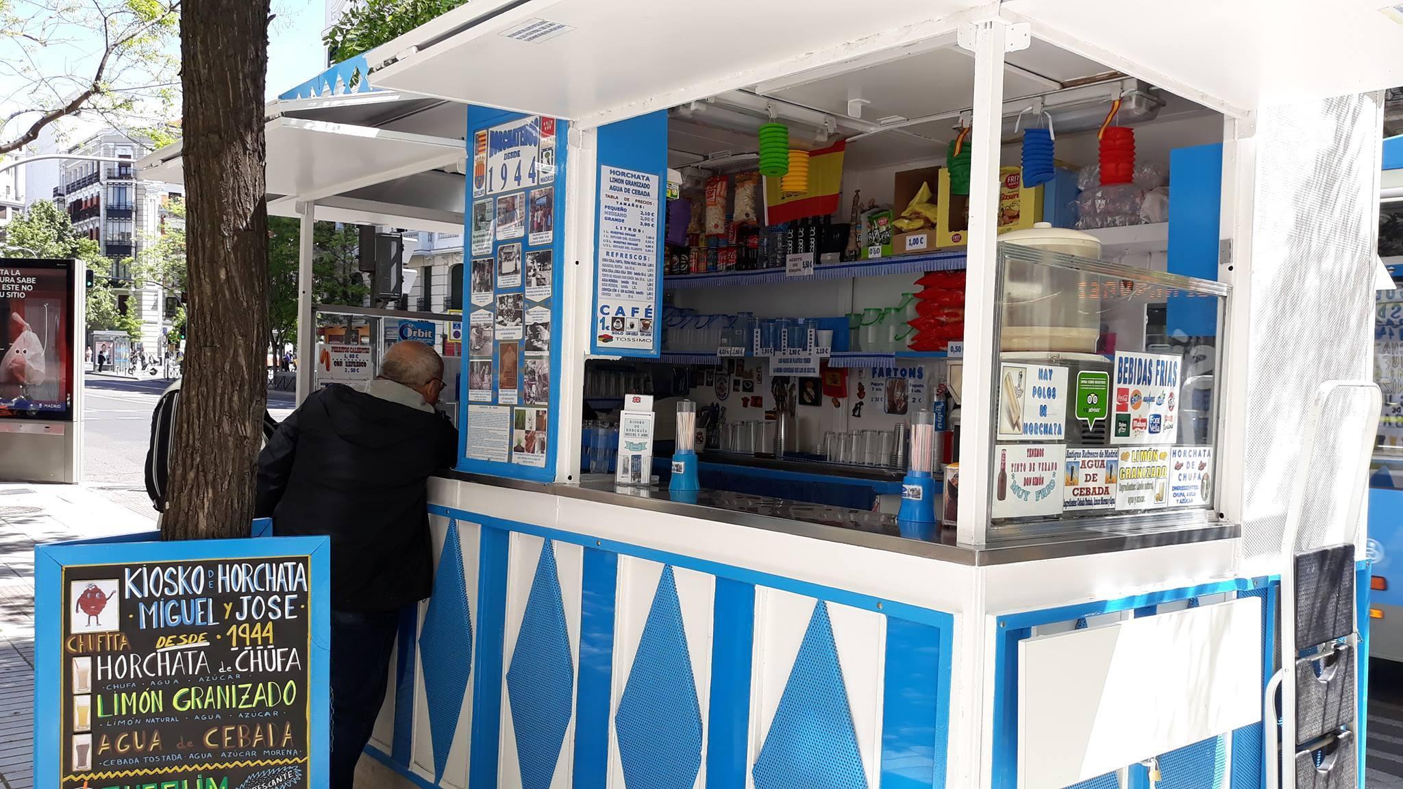 Kiosko de la horchata - mejores horchatas Madrid