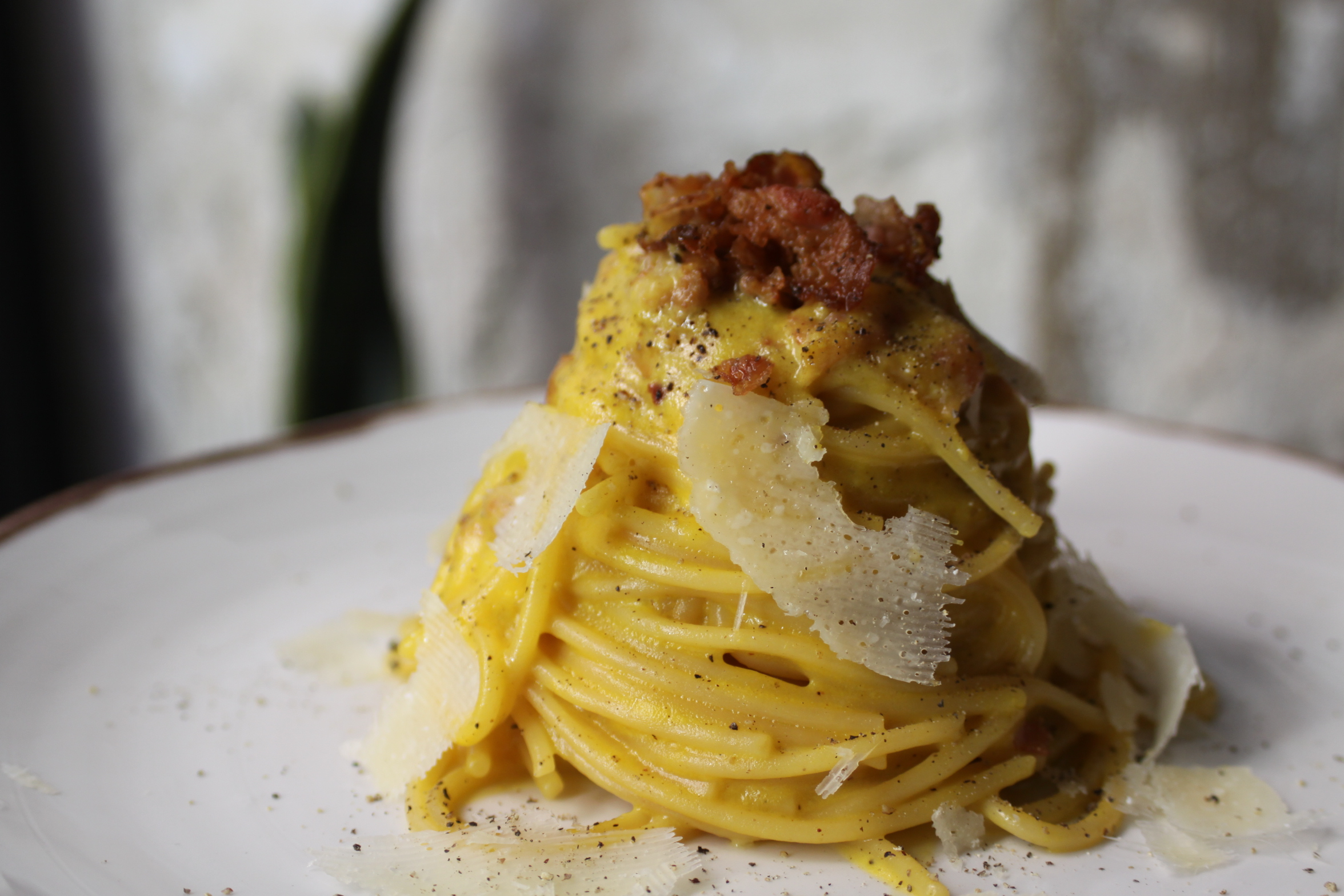 mejor pasta carbonara Madrid - Nina Pasta Bar