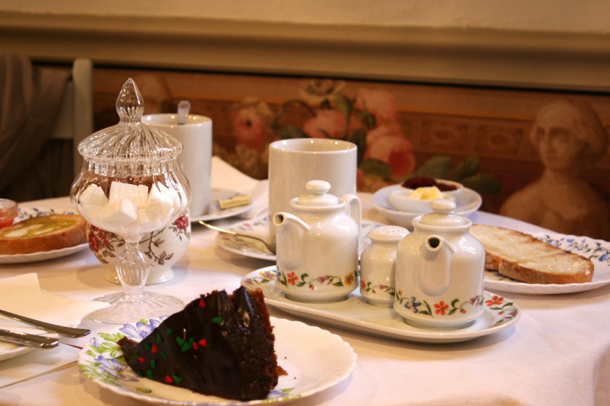mejores tés madrid - El café del jardín