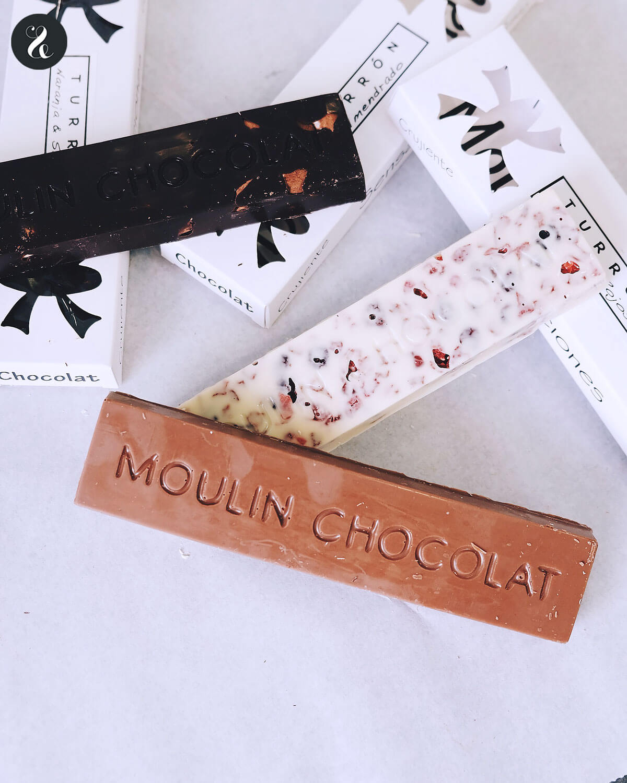 mejores turrones artesanos madrid - Moulin Chocolat