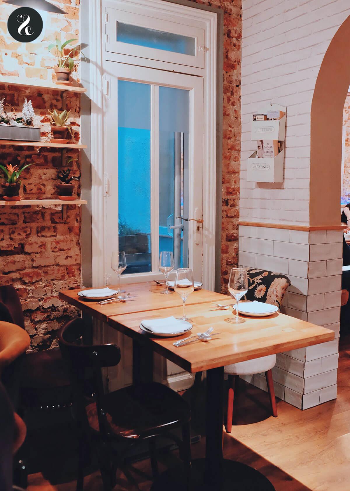 mejores restaurantes románticos Madrid - Taberna y Media