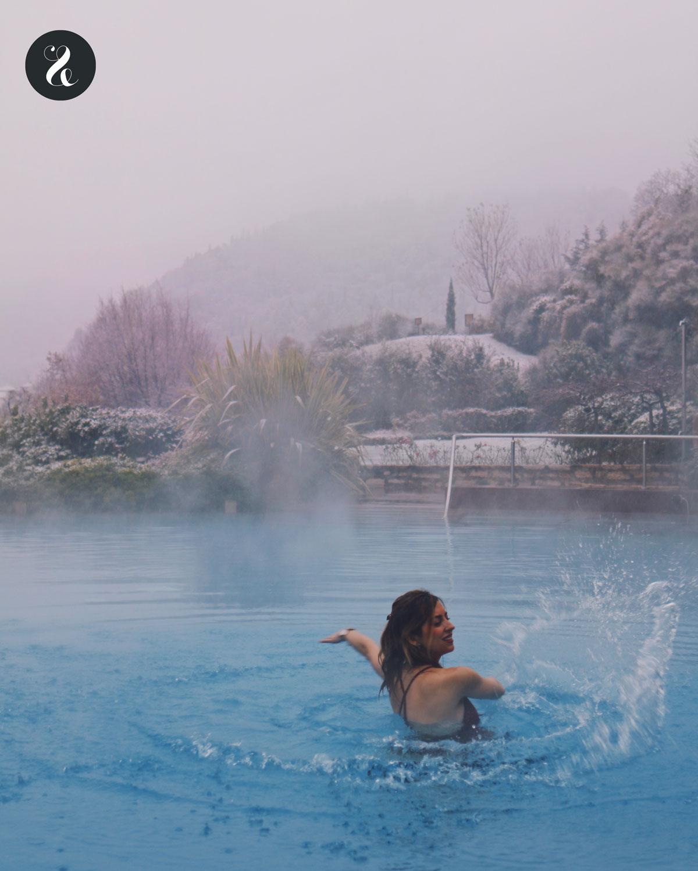 Piscina climatizada en Lefay resort & spa Lago di Garda