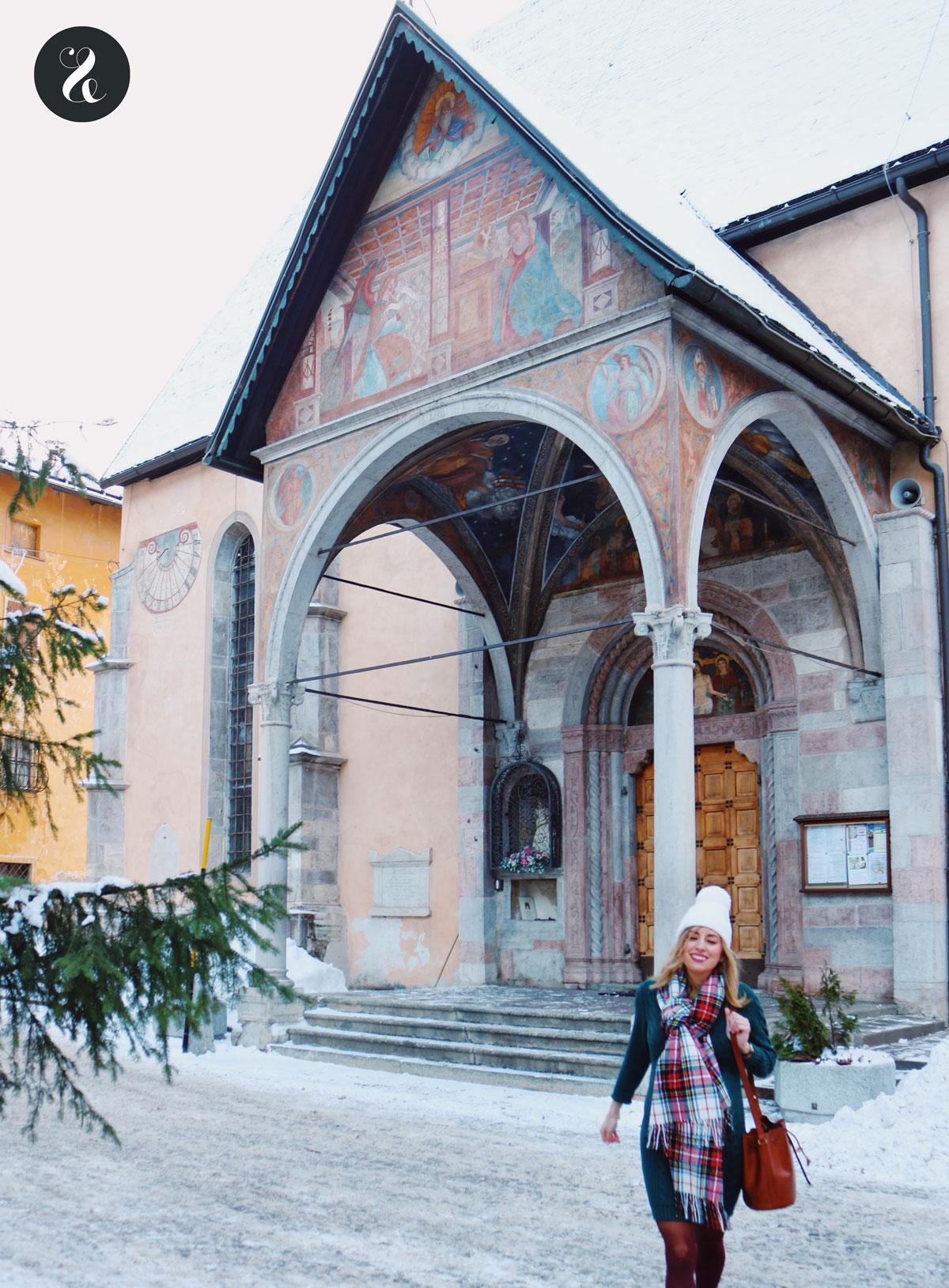 Iglesia en Pellizzano (Val di Sole, Trentino)