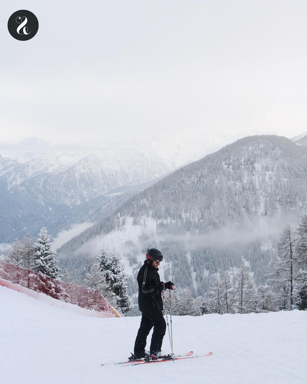 Estación de ski Pejo 3000, en los Alpes italianos