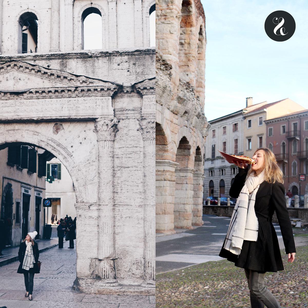 Monumentos romanos en Verona