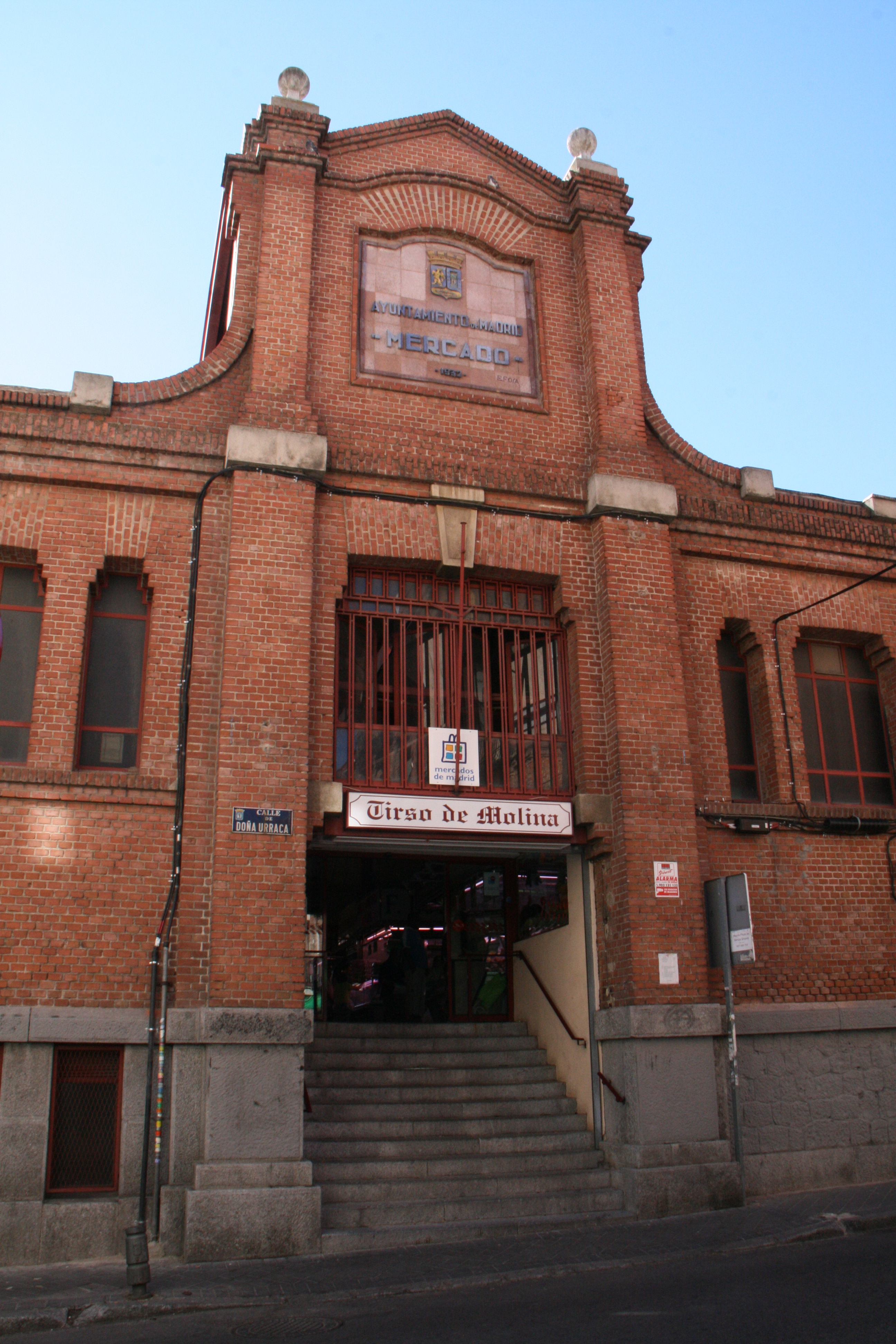 mercados abastos Madrid - Tirso de Molina