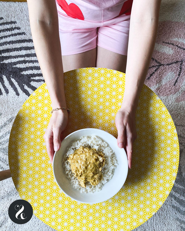 Pollo con ají amarillo de Wetaca