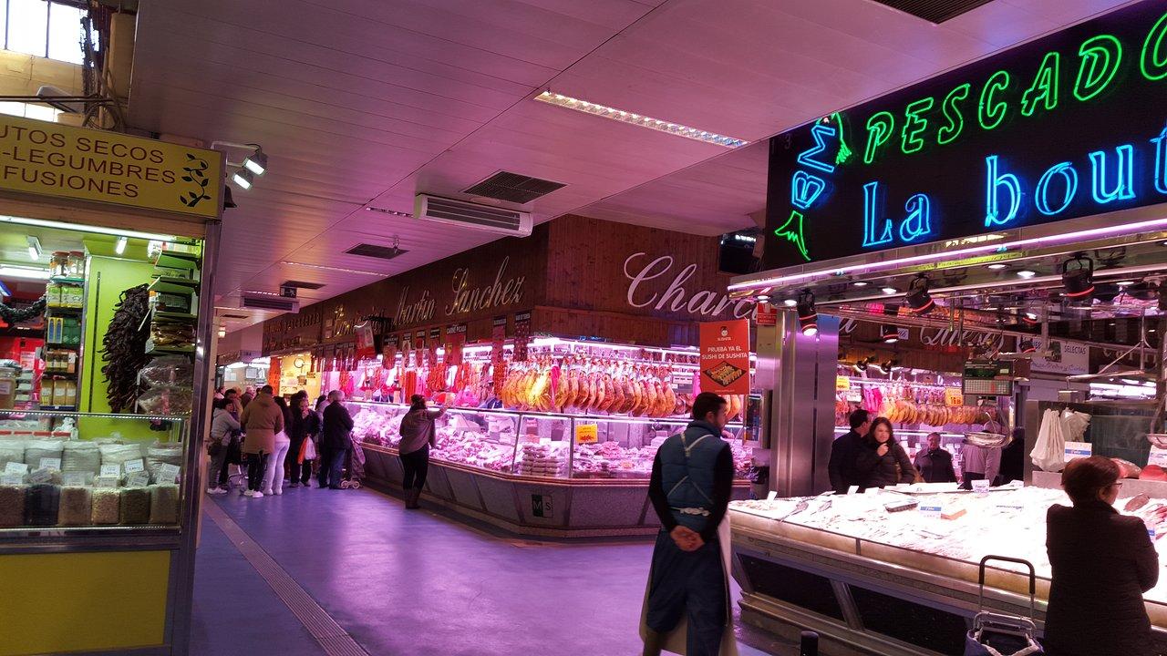mercados abastos Madrid - Maravillas