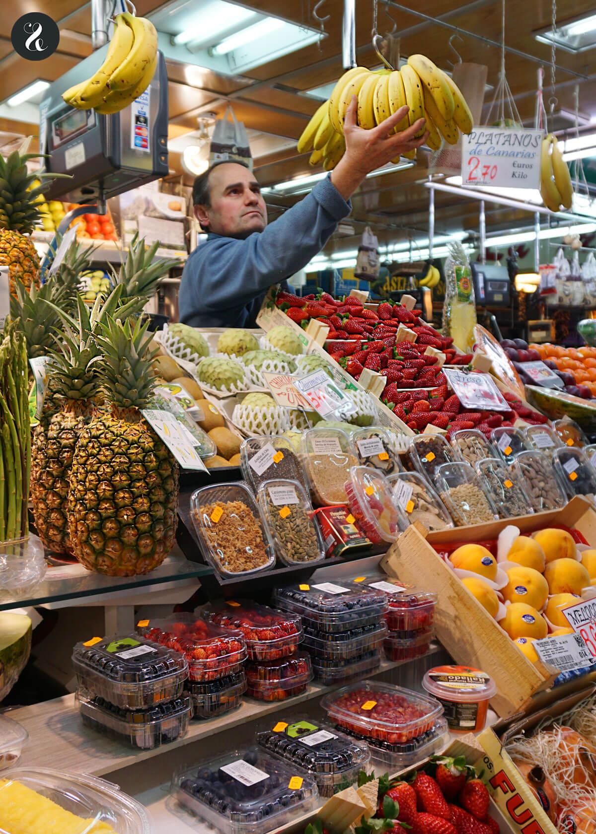mercados abastos Madrid - Vallehermoso