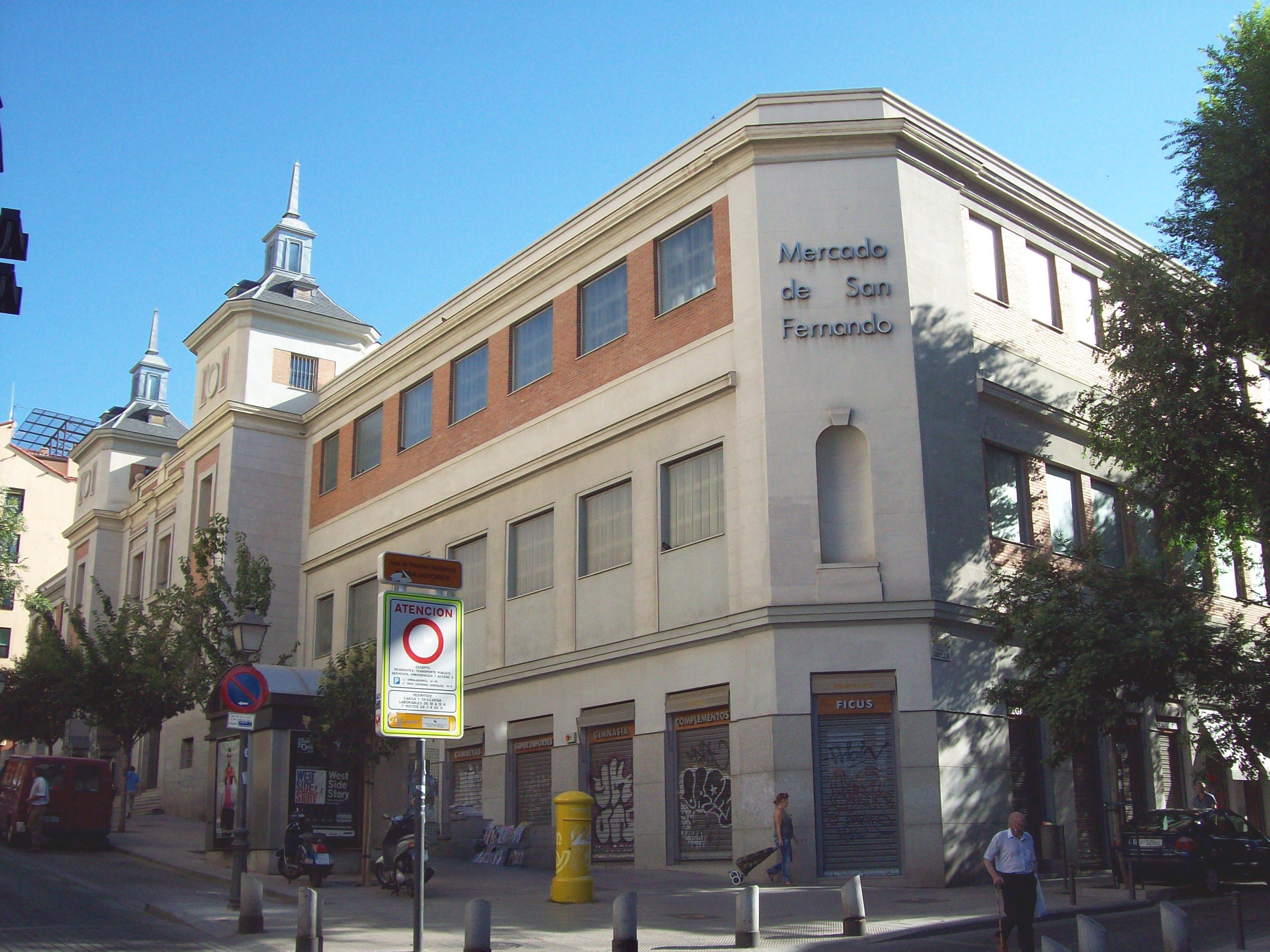 mercados abastos Madrid - San Fernando