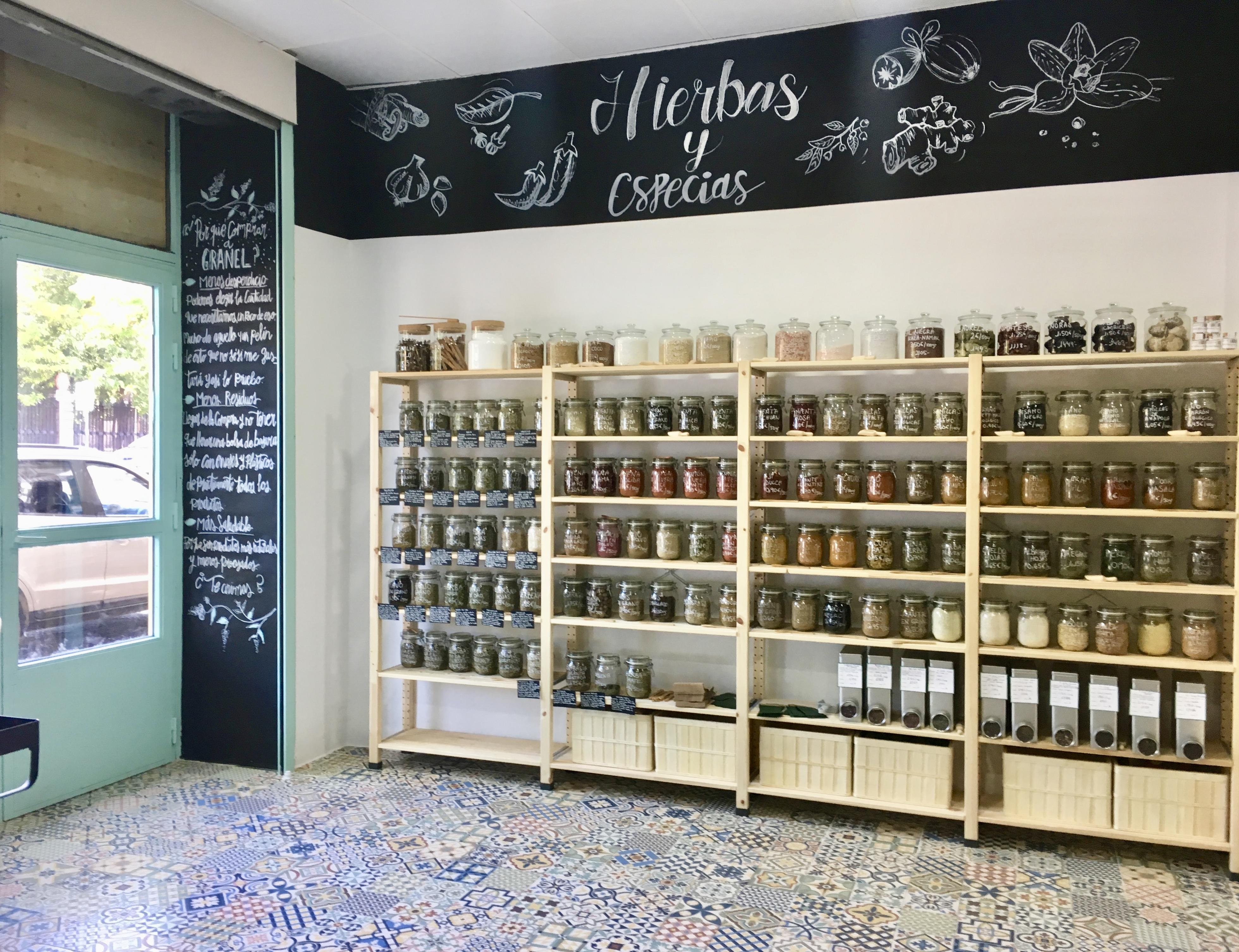 negocios locales madrid - Slow Shop Granel