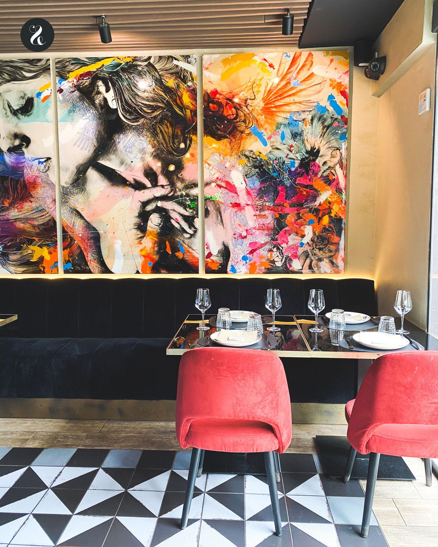 local Iztac restaurante mexicano Chamartin Madrid