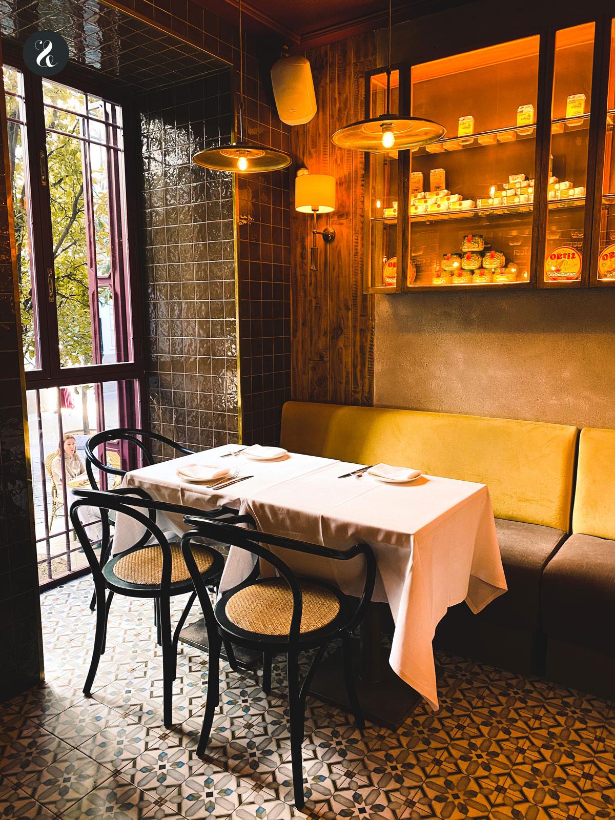 restaurante Casa Orellana Madrid