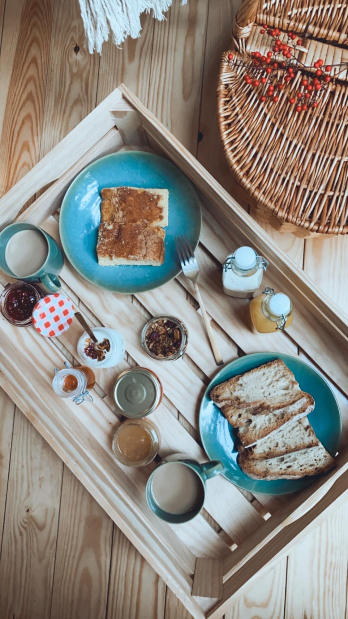 Desayuno casero en Vila sen Vento