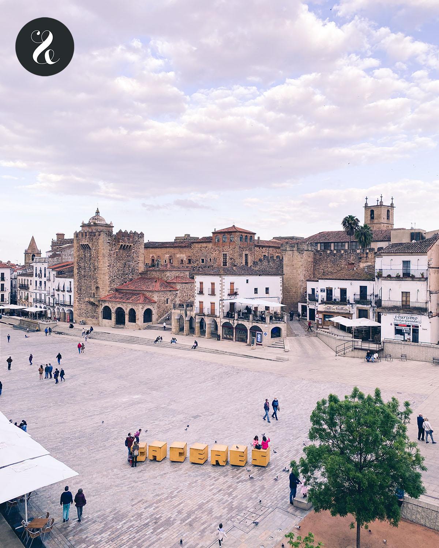 Qué ver en Cáceres - Plaza Mayor