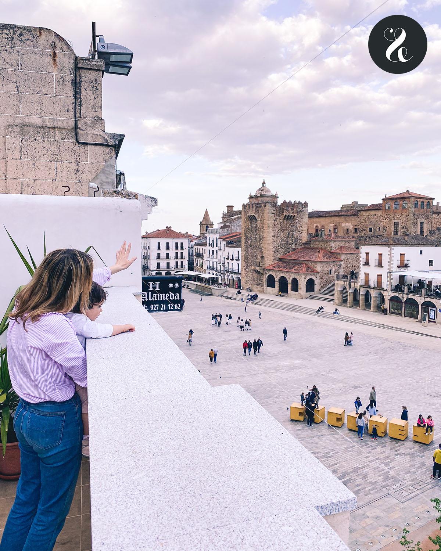 Qué ver en Cáceres - Hoteles en Cáceres - Plaza Mayor 35