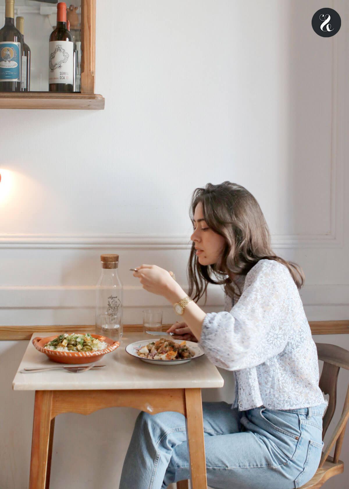 Qué ver en Lisboa - Comer en Lisboa - Taberna da rua das flores