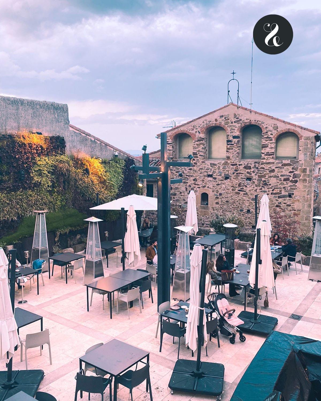 Qué ver en Cáceres - Comer en Cáceres - La casa del Sol terraza
